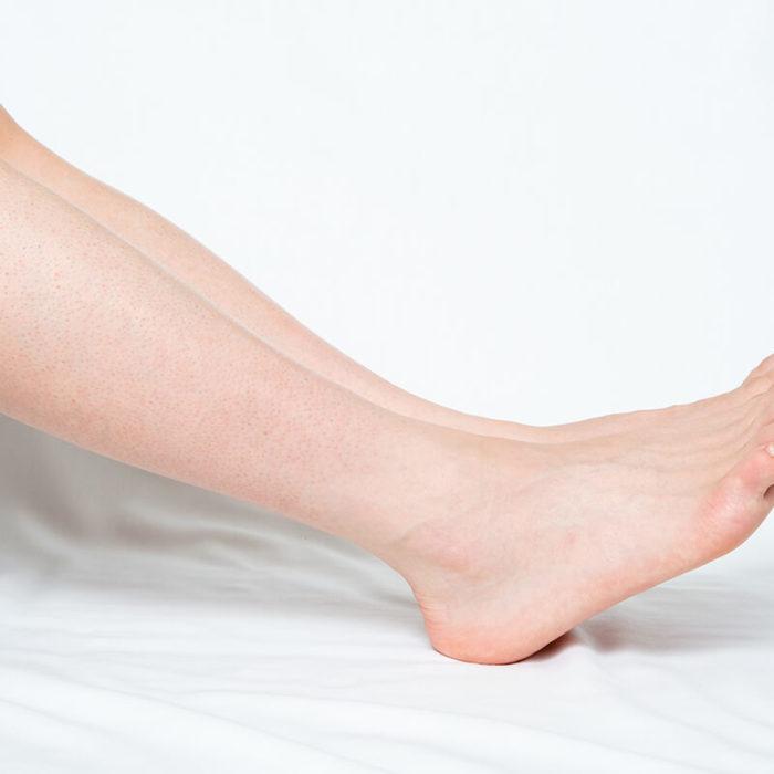 Epilation demi jambes homme